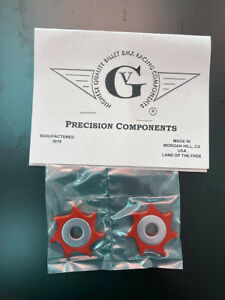 Von Giese VG BMX DROPOUT SAVERS WASHERS SPURS Made in USA - RED SE GT CW BOSS