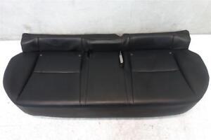 11 12 13 Lexus CT200h Rear Lower bottom Bench Seat Leather Black 71075-76021-C1