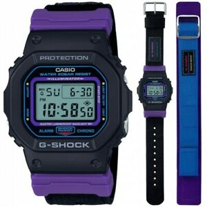 Casio Men'S Watch G Shock DW-5600THS-1ER Special Edition Throwback Double Strap