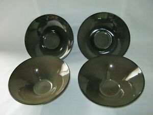 1 Set of 4 GABBAY FUSION WASABI GREEN SPECKLED Cereal Soup Rice Bowl