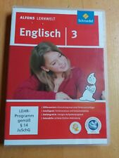 Alfons Lernwelt Lernsoftware Englisch 3. DVD-ROM von Ute Flierl (2010, DVD-ROM)