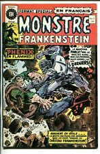 MONSTERS DE FRANKENSTEIN #17-1970'S-EDITIONS HERITAGE-HORROR-FRENCH LANGUAGE-vg