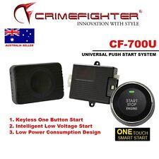 CRIMEFIGHTER CF700U PUSH START STOP BUTTON MODULE KEYLESS START FOR CAR