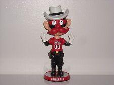 RAIDER RED Texas Tech University Bobble Head 2013 Mascot Edition Raiders New**