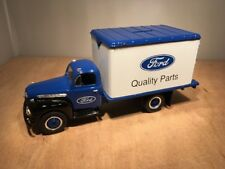 FORD 1951 F-6 DRY GOODS VAN DIE CAST BANK - FIRST GEAR (20-1123) 1:34