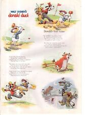 1938 Disney - Donald Duck's Golf Game from Good Housekeeping