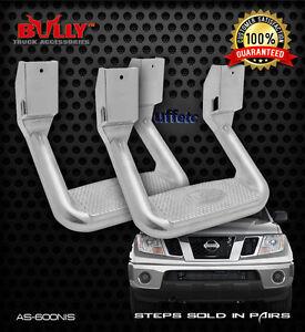 "Pair Bully 10"" Aluminum Side Steps fits Datsun 521 620 720 Nissan Various Models"