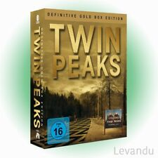 DVD-Box TWIN PEAKS - DEFINITIVE GOLD BOX EDITION (Staffel 1-2) - 10 DVD's NEU