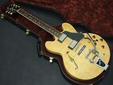 Gibson ES-335 Dot Reissue Flame Top Natural Semi-hollow 2001 HH Electric Guitar