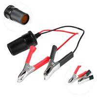 12V Car Battery Terminal Clip-on Cigarette Cigar Lighter Power Socket Ada  ej6