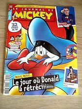 LE JOURNAL DE MICKEY  N° 3613  -  15  SEPTEMBRE  2021  /  DONALD  A  RETRECI