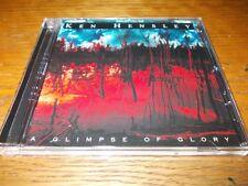 LEON'S SALE:KEN HENSLEY-A CLIMPSE OF GLORY 1999 CD URIAH HEEP