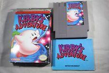 Kirby's Adventure (Nintendo NES) Complete in Box FAIR