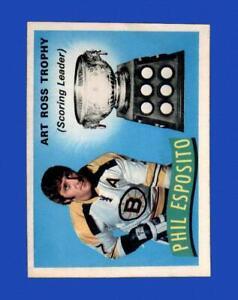 1971-72 O-Pee-Chee Set Break #247 Phil Esposito Ross NR-MINT *GMCARDS*
