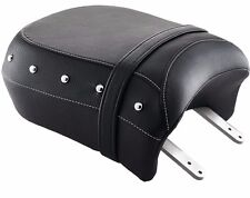 GENUINE BLACK LEATHER HEATED PASSENGER SEAT BY INDIAN MOTORCYCLE 2880734-02