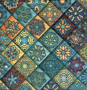 2 pcs Single Paper Napkins For Decoupage Craft Moroccan pattern