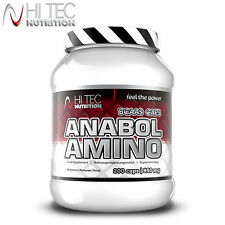 ANABOL AMINO ACIDS 200Caps. Huge Dose Of Leucine Anabolic Muscle Growth BCAA
