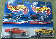 1998 Hot Wheels 1:64 First Editions '70 Roadrunner And Sugar Rush Oh Henry