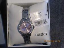 Seiko Women's Three-Hand Silver-Tone Stainless Steel Watch SUR869