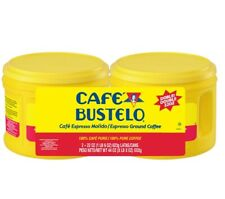 Café Bustelo PACK Espresso 44oz Ground Coffe GOOD PRICE !!!  coffe X2