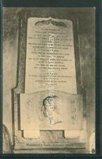 GRASMERE PRINTED  POSTCARD CUMBRIA WILLAM WORDSWORTH GRAVE STONE MEMORIAL