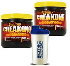 PVL Mutant Creakong 2x 300g Hardcore Creatine Matrix Blend MUSCLE MASS + SHAKER