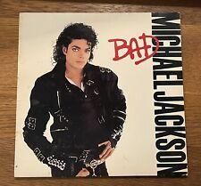 Michael Jackson Bad Vinyl 1987 LP Record Album
