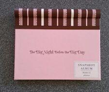 NEW Hallmark Big Night Before the Big Day Bachelorette 4x6 32 Pink Photo Album