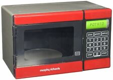 Toy Microwave Casdon Morphy Richards Childrens Electronic Playset Age 3-8
