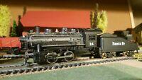 Mantua,Athearn,Bowser ? etc échelle ho locomotive 0.4.0 Santa-Fee
