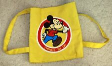 Mickey Mouse 1983 vintage tote bag backpack canvas Walt Disney Things To Do