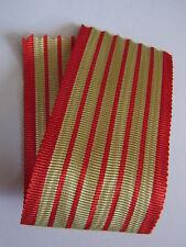 RUBAN MÉDAILLE DES DOUANES COUPE DE 14 CM 37 mm NEUF ANCIEN TISSAGE french medal