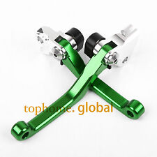 For Kawasaki KX250F 2005-2012 KX450F 2006-2012 Pivot Clutch Brake Levers 11 10