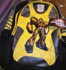 Transformers Bumblebee  School Backpack Book Bag Kids Toy Gift Boys