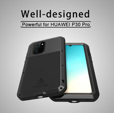 LOVE MEI Metal Shockproof Defender Full Protection Case For Huawei P30 Lite Pro