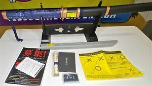 SONY PS2 CAPCOM X HORI ONIMUSHA KATANA CONTROLLER JAPAN IMPORT USED, GREAT COND
