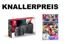 Nintedo Switch Konsole - Grau + MarioKart 8 Deluxe NEU & OVP
