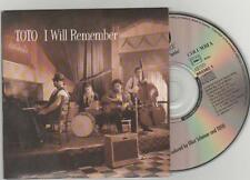toto - i will remember cd single