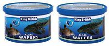 2 x King British Algae Wafers 100g Pleco Catfish Tropical Fish Zebra Discus