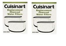 CUISINART Coffee Maker DCC-RWF CHARCOAL 4 REPLACEMENT WATER FILTERS