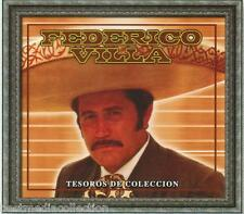 Federico Villa CD NEW Tesoros De Coleccion SET 3 CD's Con 30 Canciones SEALED