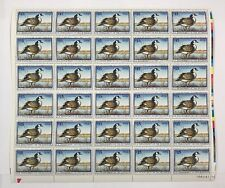 Mint OG USPS Stamp Sheet 1997 Federal Duck Hunting Permit Canada Goose! SRW64