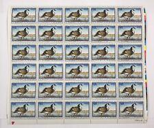 Mint OG USPS Stamp Sheet 1997 Federal Duck Hunting Permit Canada Goose! SRW64