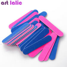 50Pcs Nail Files Nail Art Sanding Buffer Block Pedicure Manicure Buffing Polish