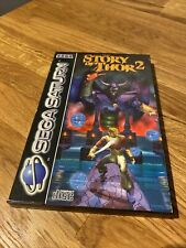 Sega Saturn Spiel The Story of Thor 2 inkl. Hülle