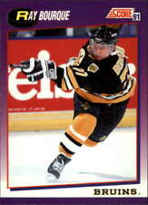 1991-92 Score Boston Bruins Team Set 21 Cards Ray Bourque MINT
