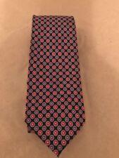 Burma Bibas100% Silk  Black, Red & blue  Fancy Men's Tie