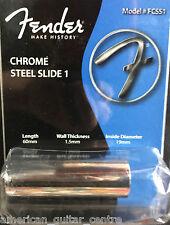 Fender FCSS1 Chrome Guitar Slide