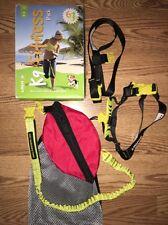 K9 Fitness Jogging Harness Leash Waist Belt Size S 10-30 lb Dog