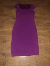 Magenta Layered Wiggle Dress From Long Tall Sally Size 14